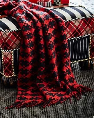 Mackenzie Childs MacKenzie-Childs Houndstooth Throw Blanket