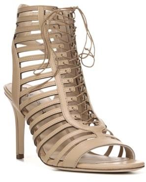Women's Via Spiga Valena Lace-Up Cage Sandal $275 thestylecure.com