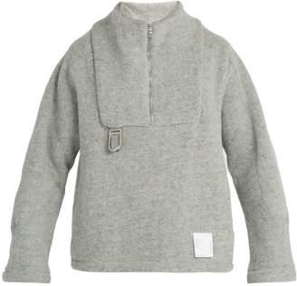 Satisfy Air-wool half-zip jacket