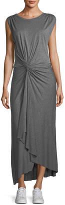 A.L.C. Emile Sleeveless Knot-Front Maxi Dress