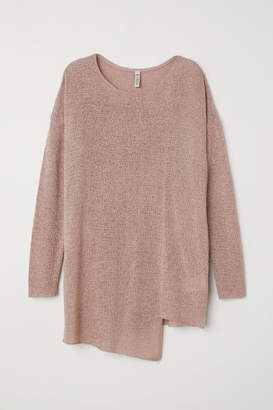 H&M Asymmetric Sweater - Brown