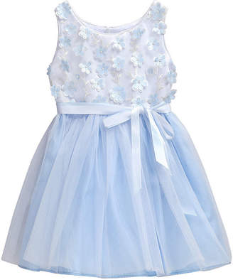Youngland Young Land Girls Sleeveless A-Line Dress - Baby