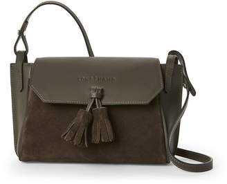 Longchamp Khaki Penelope Soft Leather Crossbody