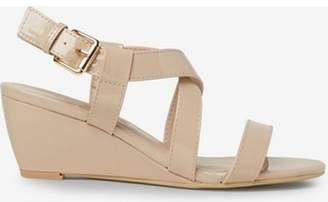 Dorothy Perkins Womens Nude 'Rosina' Wedge Sandals