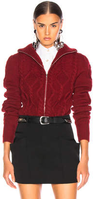 Isabel Marant Betsy Cardigan in Red | FWRD