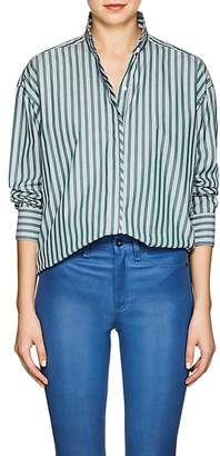 Rag & Bone Women's Audrey Striped Cotton Blouse