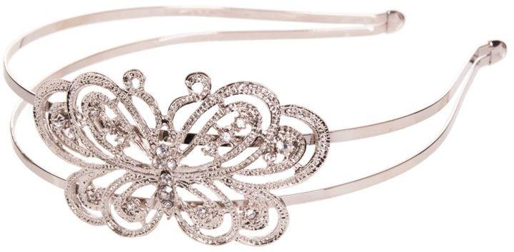 Ulta Silver Butterfly Headband