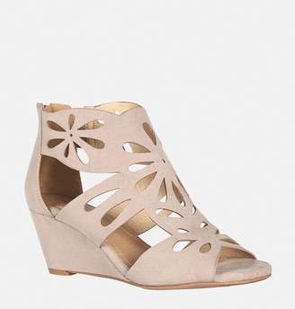 Avenue Paxton Cutout Wedge Sandal