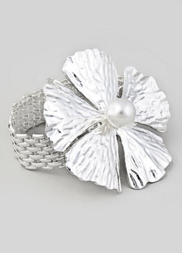 Tuleste Market Watch Chain Flower Bracelet