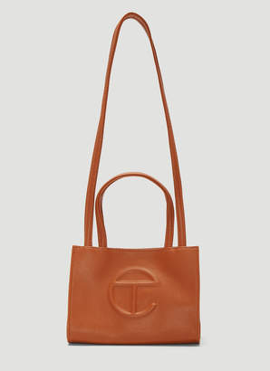 Telfar Small Shopping Bag in Brown