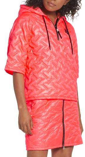 Essentials Insulated Short Sleeve Women's Hoodie
