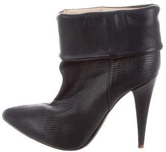 Loeffler Randall Ribbed Ankle Boots