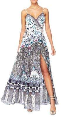 Camilla The Long Way Home Printed Crossover Dress