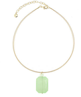 Gloria Vanderbilt Womens Brass Pendant Necklace