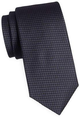 Emilio Pucci Scale Silk Tie
