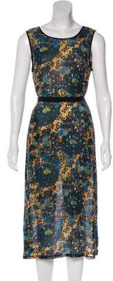 Raquel Allegra Silk Midi Dress