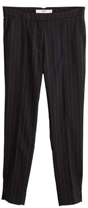 MANGO Skinny suit trousers
