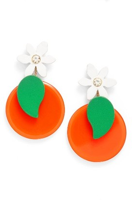 Women's Kate Spade New York Citrus Crush Drop Earrings $98 thestylecure.com