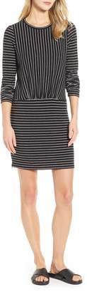 Lou & Grey Arni Mix Stripe Sweater Dress