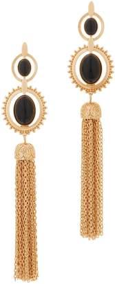 Samantha Wills Rosewater Canyon Gemstone Tassel Earrings