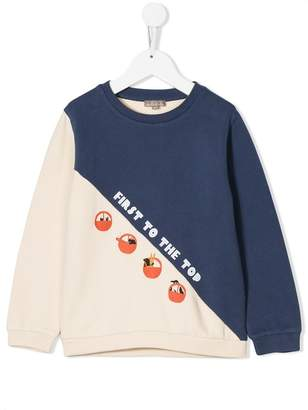 Emile et Ida 'First to The Top' jersey sweater