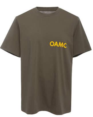Oamc Chapeau Logo Short Sleeve T-Shirt