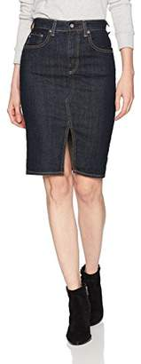 AG Adriano Goldschmied Women's The Emery Denim Skirt
