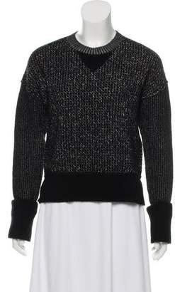 Sonia Rykiel Wool-Blend Crew Neck Sweater