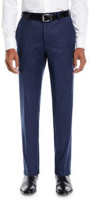 BOSS Men's Heathered Wool Travel Pants