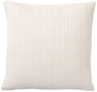 Pottery Barn Honeycomb Pillow Cover - Ivory