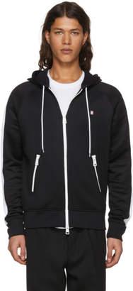 Ami Alexandre Mattiussi Black Logo Zip Hoodie