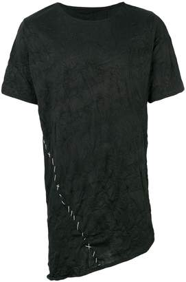 Alchemy contrast stitch T-shirt