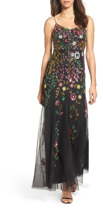 Women's Adrianna Papell Beaded Gown $379 thestylecure.com