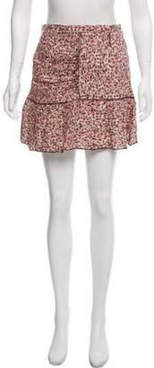 Nina Ricci Linen Mini Skirt