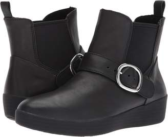 FitFlop Superbuckle Leather Chelsea Boot Women's Boots