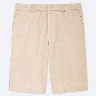 Uniqlo Men's Linen Blend Shorts