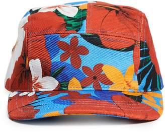 Ami Tropical Print Hat