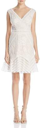 Tadashi Shoji Lace V-Neck Dress