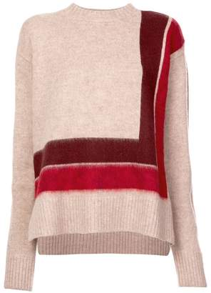 Derek Lam 10 Crosby Crewneck Blanket Sweater