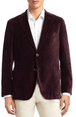 Saks Fifth Avenue COLLECTION Velvet Sportcoat