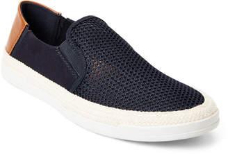 Steve Madden Navy Surfari Woven Slip-On Sneakers