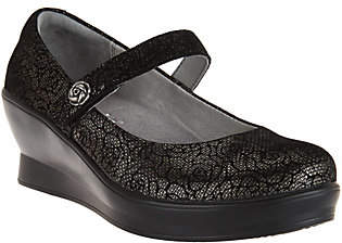 Alegria Leather Mary Janes - Flair