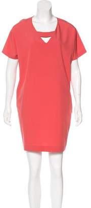 Cacharel Short Sleeve Mini Dress