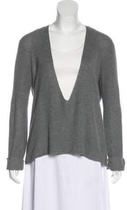 A.L.C. Rib Knit Lightweight Sweater