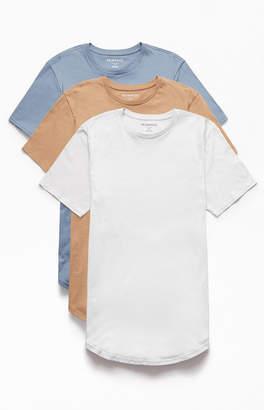 Proenza Schouler Basics Basics Three Pack Avery Scallop T-Shirts