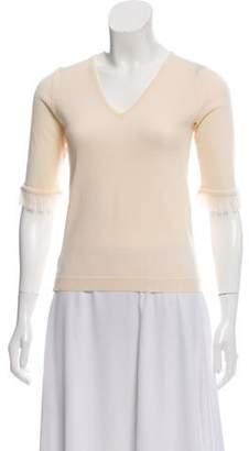 Gianni Versace Knit Short Sleeve Top