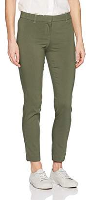 My Michelle Leighton By Junior's Zip Front Skinny Career Pant,5