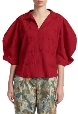 Rachel Comey Amplus Puff Sleeve Blouse