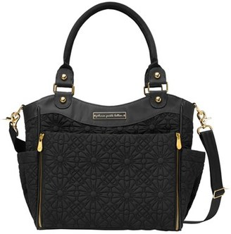 Infant Petunia Pickle Bottom 'City Carryall - Special Edition' Diaper Bag - Black $179 thestylecure.com