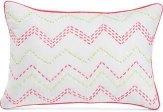 "bluebellgray Ziggy Embroidered Neon 12"" X 18"" Decorative Pillow Bedding"